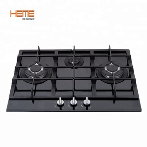 General gas Built-In Installation 3 burner gas cooker(PG7032G-CCB)