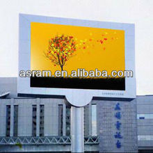 RGB full color outdoor led scroll display true color rgb led display outdoor p10