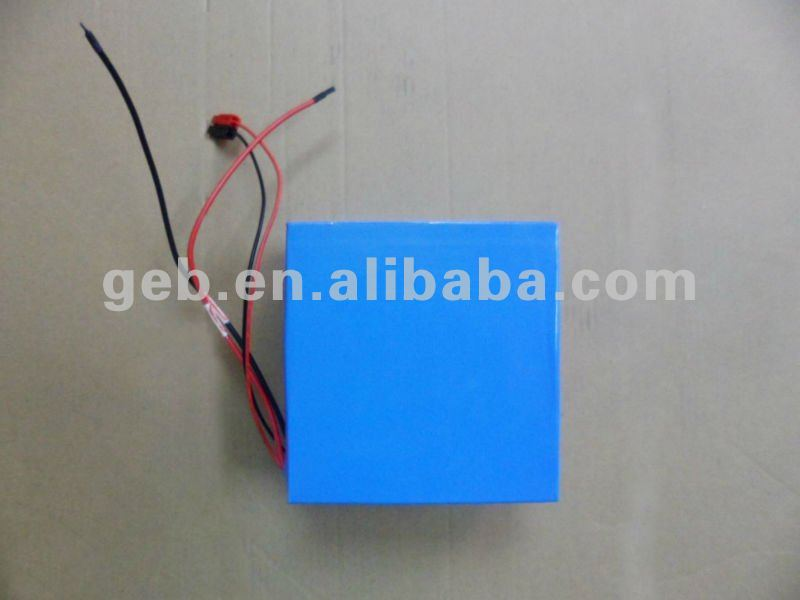 rechargeable LiFePO4 12V 30AH Battery pack