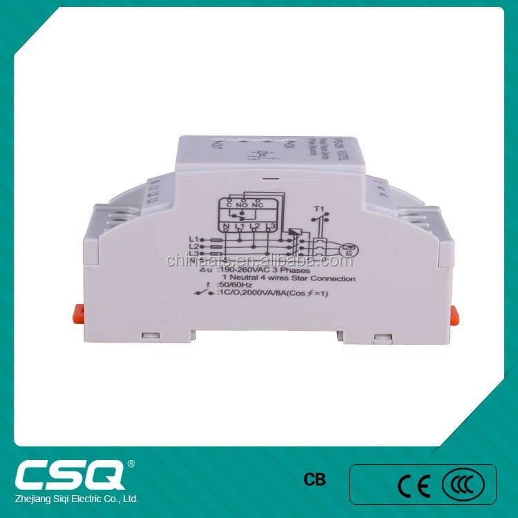 relay phase control relay/phase motor protection