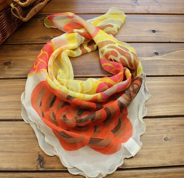 2015 European spring/summer ladies square scarf fashion ladies scarf
