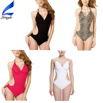 2016 Latest Design Bikini Swimwear Woman One Piece Swimsuit