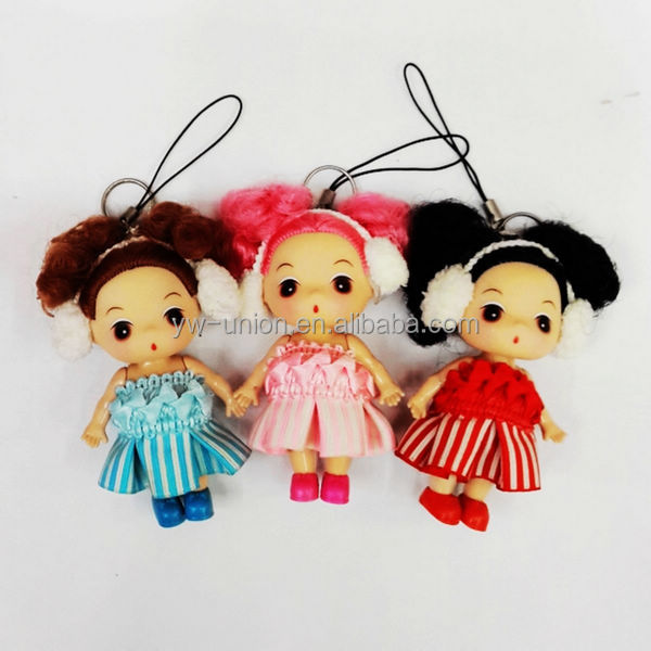 old fashioned mini baby dolls with fashion clothes