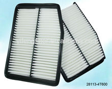 Air Filter 28113-4T600 for 2012 and above kia new Sportage 2.0, 2012 new K5 2.0L size:277x201x40 mm