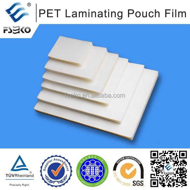 Digital plastic transparent film /digital thermal laminlation glossy film 35mic