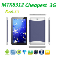 2016 cheapest Android Mid Tablet 7 inch MTK8312 Dual core 3G Android 4.1 S78