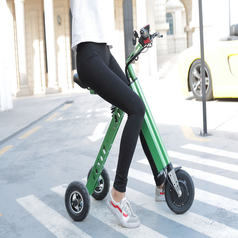 Steel portable <strong>folding</strong> 3 wheel cheap electric scooter for adults