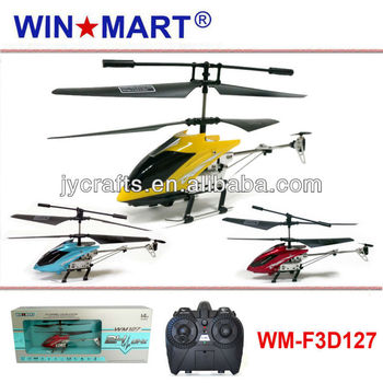 WM-F3D127 mini gyro metal 2.4G helicopter