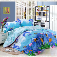 100%cotton ocean bedding set