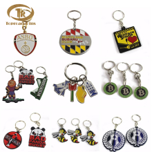 2018 latest Fancy Cheap price promotion gift custom metal key chain