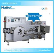 The most popular irregular lollipop embossing die making and packaging making machine