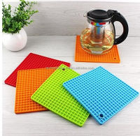 PH-003 flexible silicone trivet and jar opener and soft silicone magnetic pot holder