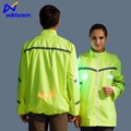 Safety led reflective cool lighting ski snowboard sports jacket price