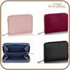 new design mini genuine leather zipper wallet women leather wallet business men PU leather wallet