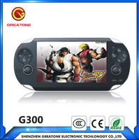 4GB 8bit 32 bit game console handheld for ps vita kof games 4.3inch mp5 game player 32GB