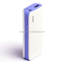 China supplier promotional portable power bank/mobile power bank/ 5200mah external power bank for lenovo