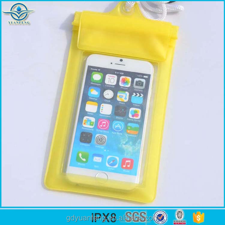 Promotional Gift Item PVC Waterproof Bag for Cell Phone for Camping Hiking