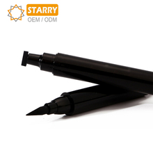 Private Label OEM Makeup Liquid Eyeliner vamp Stamp Pen Smudgeproof Waterproof Long Lasting Tattoo Eye Liner Wing Stamp