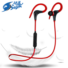 2018 Sport Bluetooth Headset In-ear Headphone Sweatproof Wireless Earbuds for MP3 Player