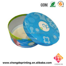 custom round paper cardboard box paper tube package printing