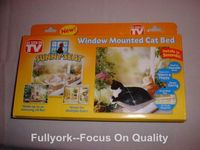 Window Mounted Cat Bed As Seen On TV Sunny Seat Cat Bed With Color Box Package