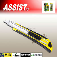 ASSIST made in China new style hot multifunctional cutter aluminium alloy utility knife