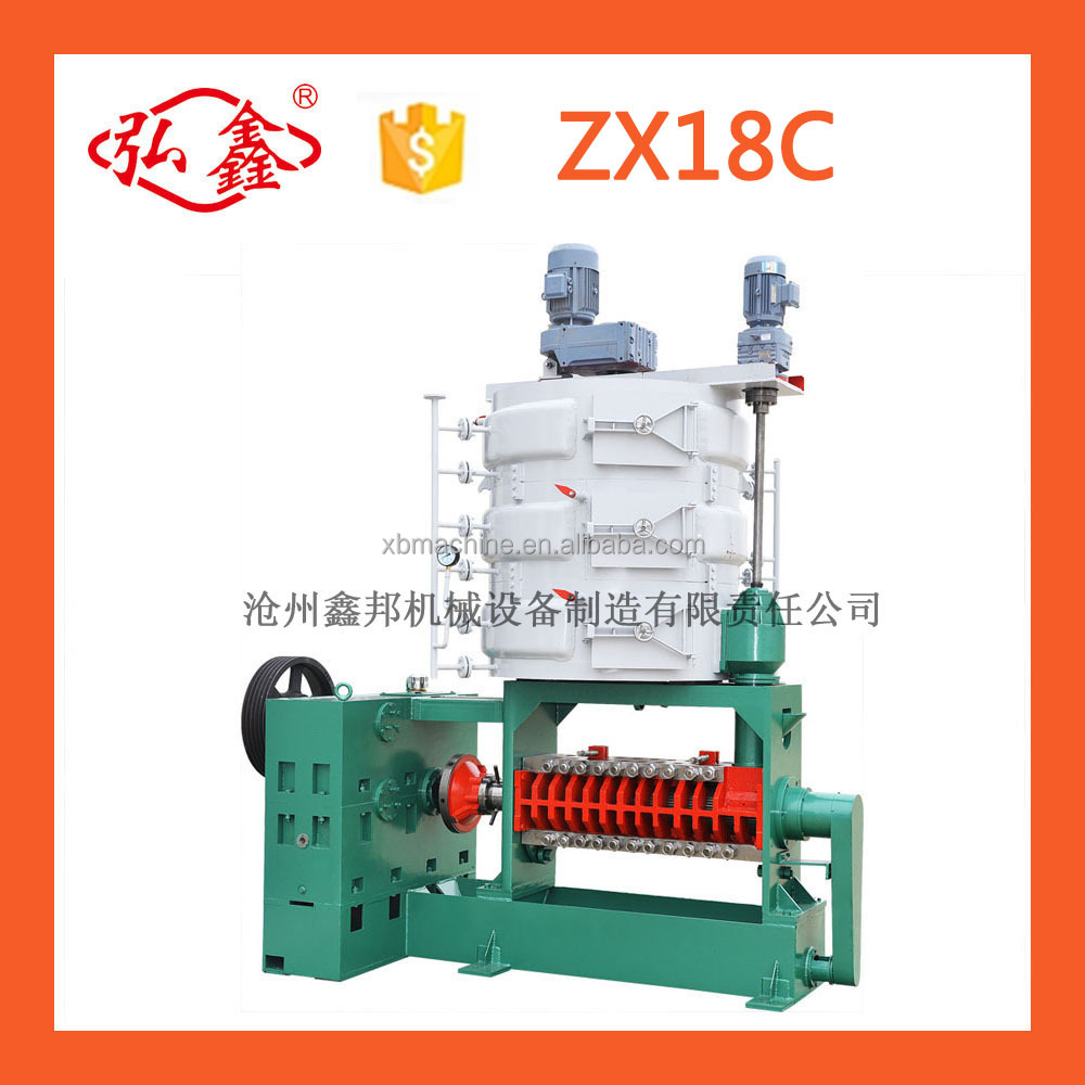 vegetable seeds oil production line cold press machine castor oil expeller