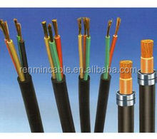 450/750v automotive copper conductor PVC insulated and sheathed flexible control cable
