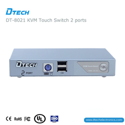 China suppliers Top quality Semi-automatic KVM switches 2 * 1