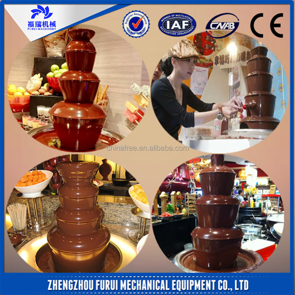 The best price small chocolate fountain machine/food chocolate fountain for sale with CE certificate