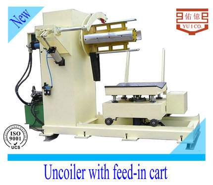Chinese manufaturing steel coil hydraulic automatic uncoiler or decoiler