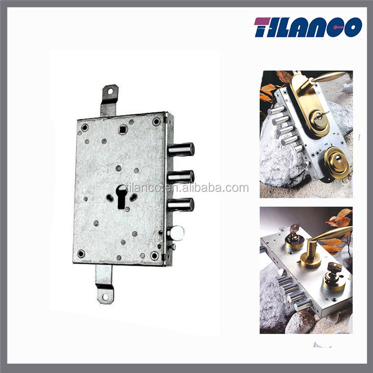 New style mortise door mortise lock parts interior door lock body