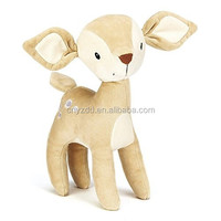 Super Soft Plush Deerlet Baby Toy /Cuddly Soft Baby Toy Beige Fawn/Plush Doll Relaxing Baby of Chrismat Gift
