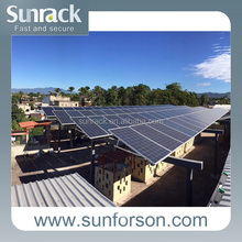 hot sale commercial application solar mounting installation