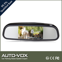 4.3 Inch Original Style Digital Car Rearview Mirror For European Small Family Cars