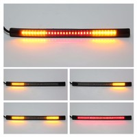 Universal Flexible 48 SMD LED Motorcycle Motorbike Tail Brake Stop Turn Signal Flashing Strip Light