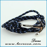 bead weaving design anchor bracelet braided