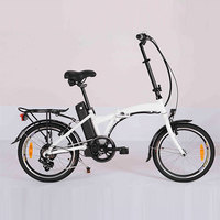 20 inch Double Layer Aluminum Alloy Rim foldable electric bike bicycle