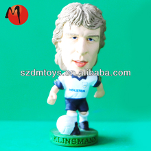 plasti football soccer players toys customized
