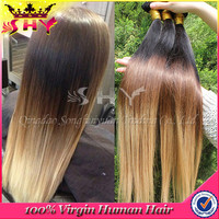 new fashionable product Virgin Brazilian And Peruvian Hair Bulk extension