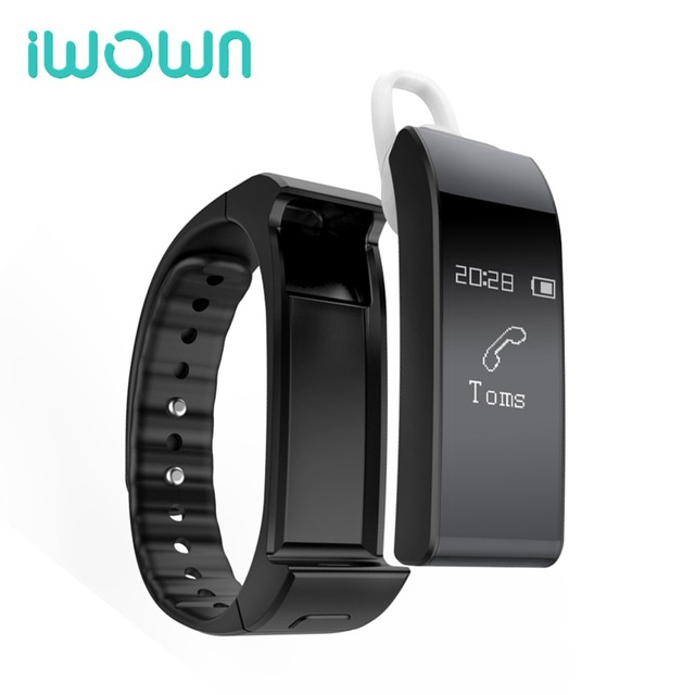 New Original iwown V6 smart Band Wristbands bracelet bluetooth Earphone Smartband Pedometer Sleep Monitor pk id107 mi band 2 1s