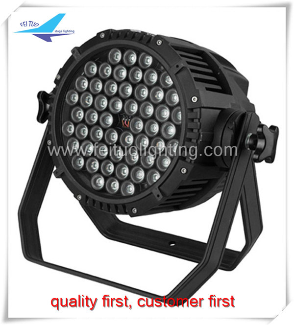 China factory high quality waterproof ip65 54 3w dmx rgb led par light
