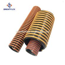 Professional reinforced weather resistant conveying mineral sands sand/water/oil suction corrugated hose factory supplier
