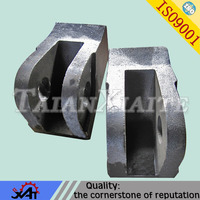 steel forged hammer head wear resistance mining machinery parts OEM service