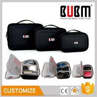 BUBM travel set bag hotsale cosmetic bag electronics organizer case 3 pcs comestic bag
