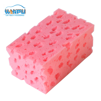 China supply factory good quality car wash sponge cleaning sponge