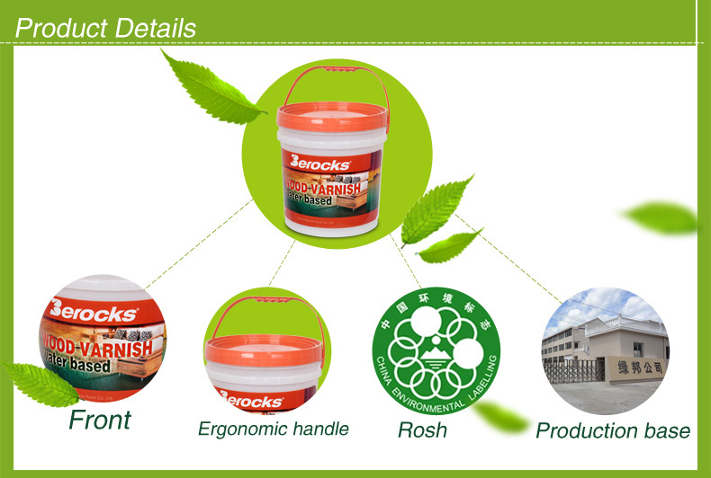 Eco-environmental Popular sale Wood paint/ Wood coating