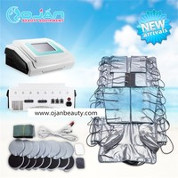 Portable 3 in 1 beauty machine infrared EMS pressotherapy slimming