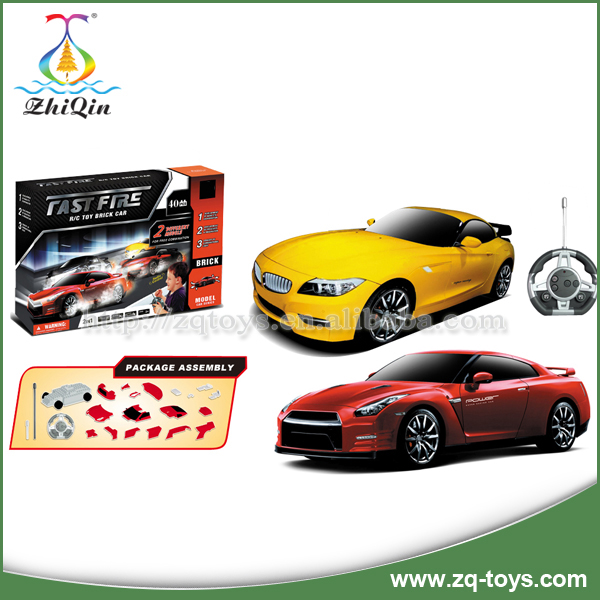 Good quality assembly 4 channel rc car with light