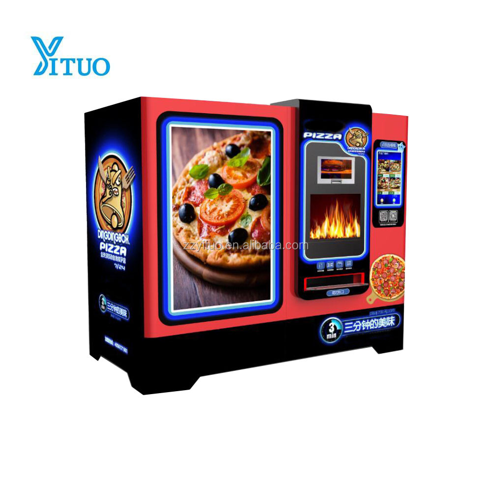 Full Automatic Fresh Pizza vending machine for sale
